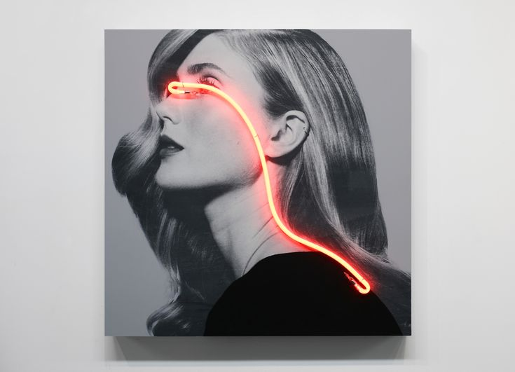 Fashion Photographs Turn Subversive With Neon Censors | The Creators Project