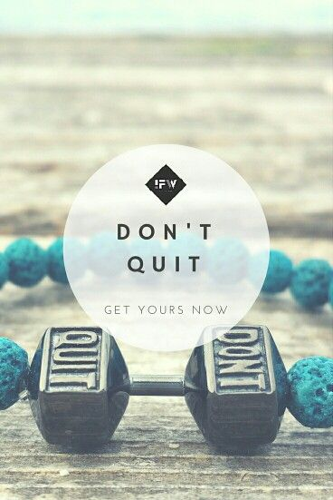 #dontquit #inasfitnessworld #ifw #motivation #inspiration #handmade #bracelet