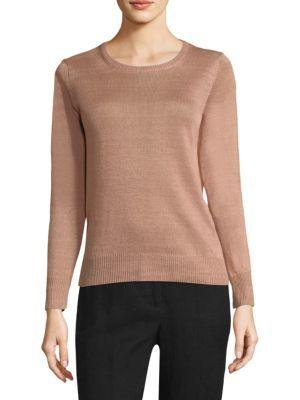f96c8ddf5407 WEEKEND MAX MARA Astor Linen Sweater.  weekendmaxmara  cloth ...