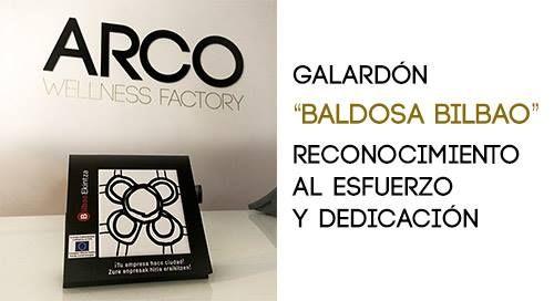 """Recibimos el galardón """"la Baldosa de Bilbao"""" en reconocimiento al espíritu emprendedor, al compromiso con el desarrollo de la ciudad, al impulso a la actividad económica y a la creación de empleo. Te ampliamos la información y galeria de fotos en nuestro blog: bit.ly/1QDASfF"""