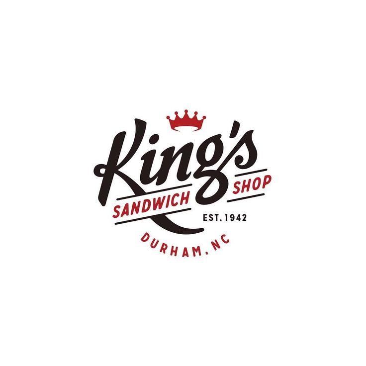 👈 King's Sandwich Shop by Joshua Berman Design - ✅ LEARN LOGO DESIGN👇👇 @learnlogodesign @learnlogodesign - logoinspirations.co