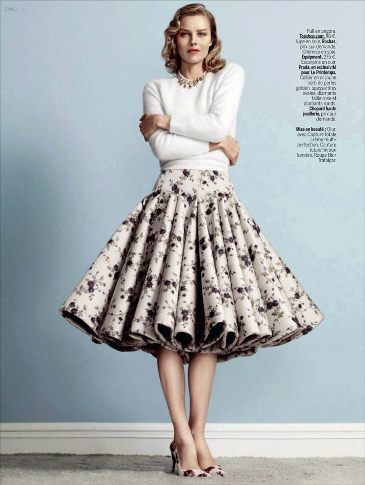☆ Eva Herzigova | Photography by Nico | For L'Express Styles Magazine France | December 2013 ☆