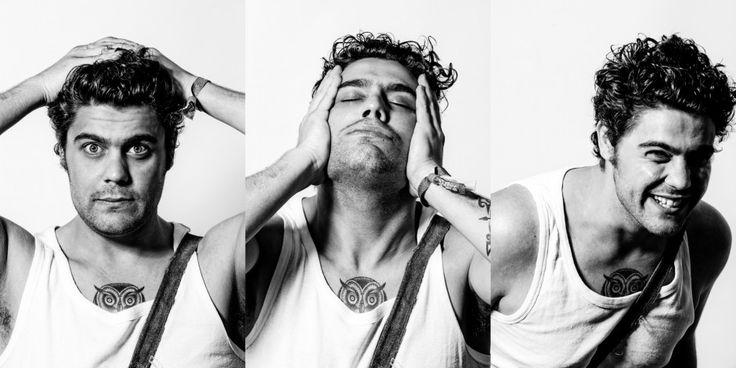 Dan Sultan - I love Dan's owl tatt