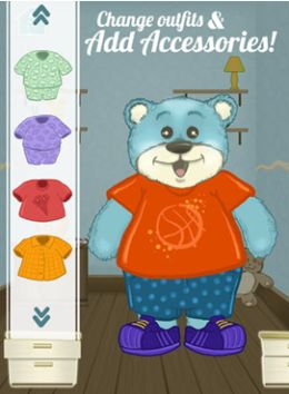 Fun Dress Up Game with a Teddy Bear #kidsapps