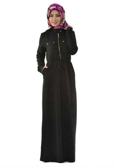 Fermuarlı belden büzgülü boydan elbise 👆