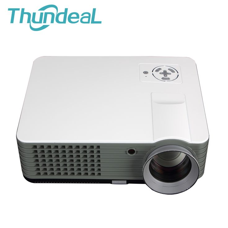 Amazing RD LED Projector Full HD Lumens Optional TV DVB Port Video Games Home Beamer Projektor