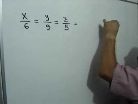 Reparto proporcional directo: Julio Rios explica un problema sobre reparto proporcional directo