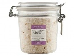 Soothe muscles with Lavender & Black Pepper -  Mineral Muscle Soak