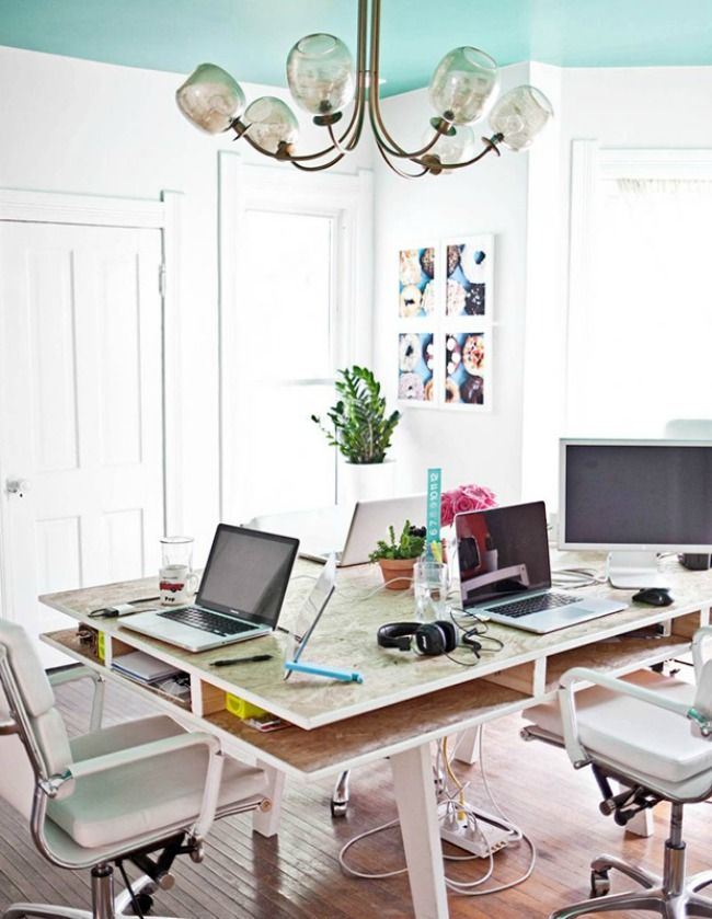 2562 best images about beautiful home interiors on pinterest for Beautiful office space design