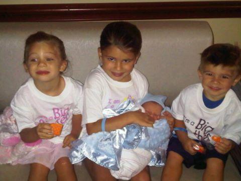Jackie gayda and Charlie haas 4 kids