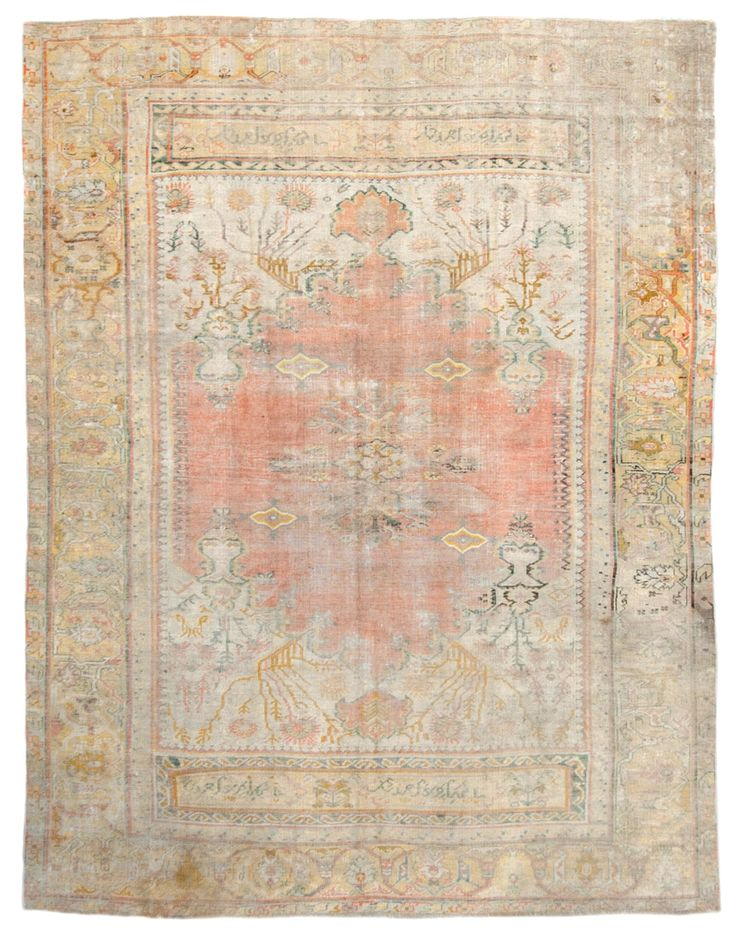 Antique Oushak Rugs (Turkish)