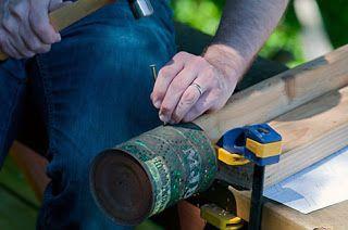 Como hacer lamparas artesanales con latas