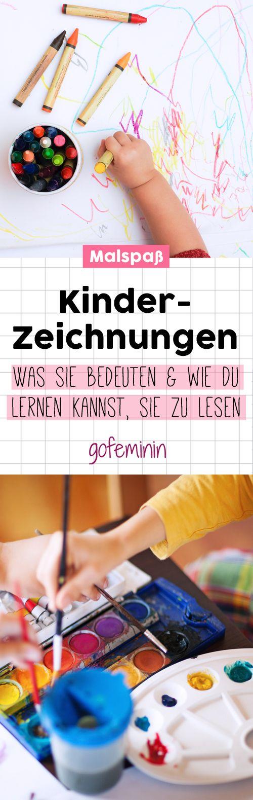 Kinderzeichnungen: Was sie bedeuten und wie du lernen kannst, sie zu lesen – gofeminin.de