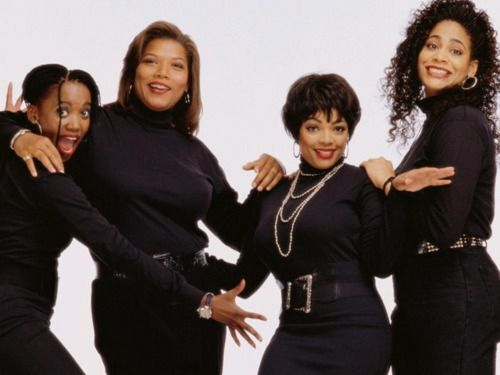 The cast of Living Single. 1993. Debuted 1 year before Friends, and 4 years before Sex and the City.