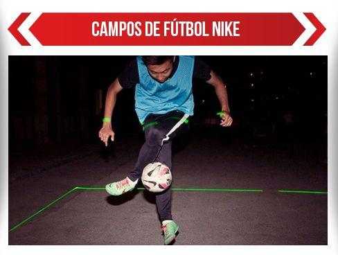 Así serán los campos de fútbol según Nike