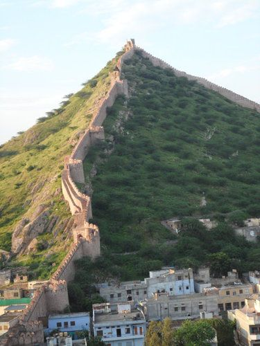 secret place in Jaipur India's wall