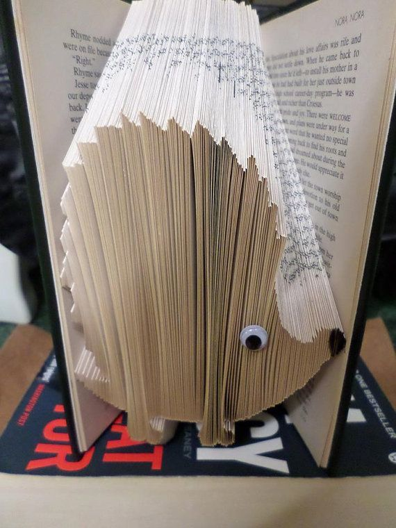 Hedgehog Book Folding Pattern 243 folds by CraftyHana on Etsy £2.50