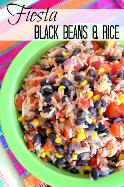 Take rice and beans up a notch!