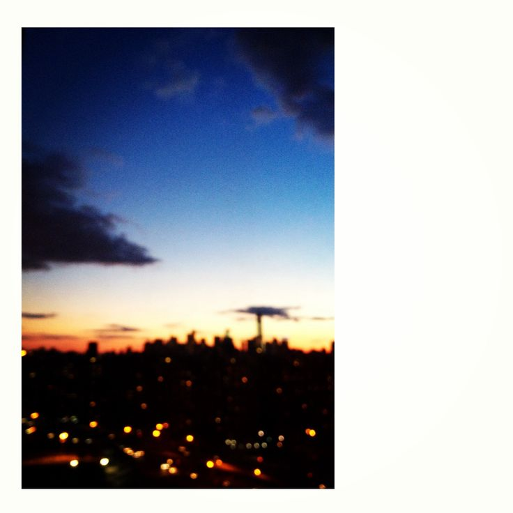 Sunsets of manhattan