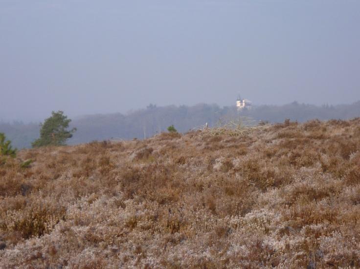 2013-01 Wintergezicht op jachtslot Palthe vanaf de Sprengenberg