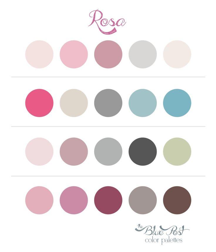 The Blue Post: Color Palettes - Rosa