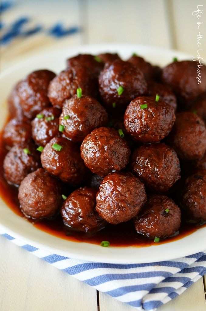 Sweet and Sour Meatballs. Only 3 ingredients!!