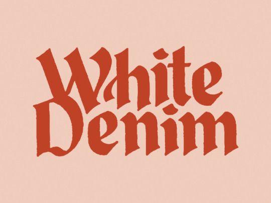 Love white denim!