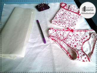Kostenlose Nähanleitung Unterwäsche - Tutorial, Nähen, Kleidung