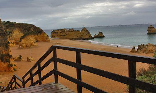 spiaggia Praia Dona Ana lagos