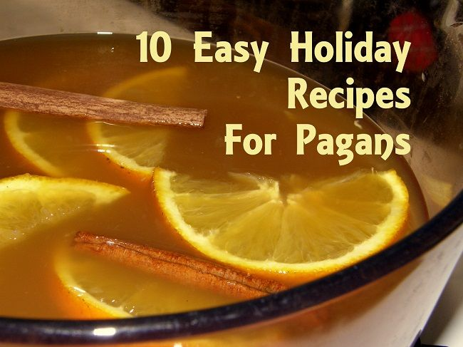 10 Easy Holiday Recipes for Pagans. Wassail for health, Corn Maque Choux for abundance, Bourbon Bread pudding for fun and more delicious recipes. Photo by Lilith Dorsey. All rights reserved.