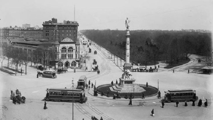 See Columbus Circle's Drastic Evolution From Farm To City