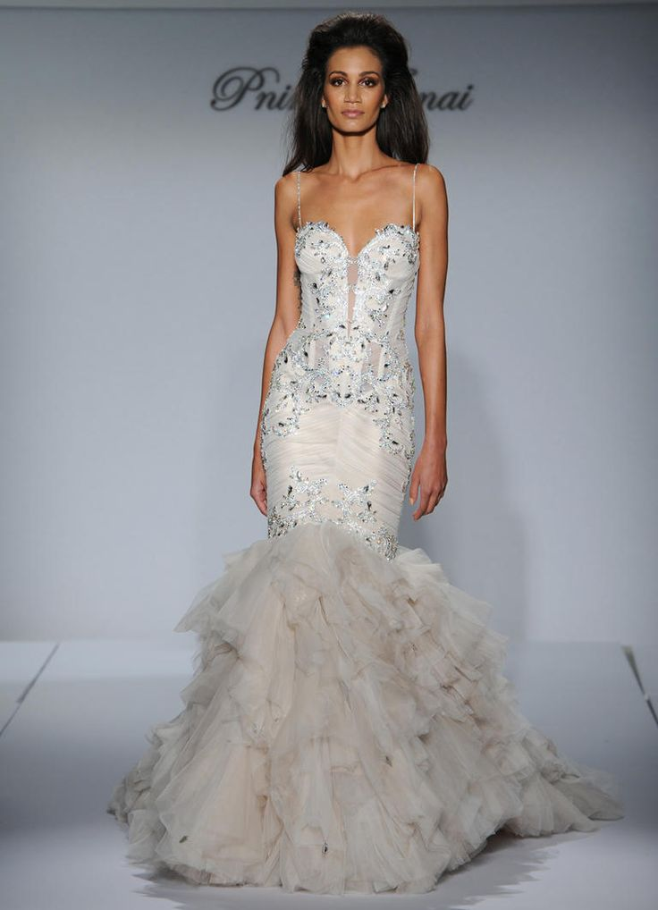 164 best Pnina Tornai Bridal Designs images on Pinterest | Short ...