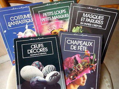 """Collection """"Mille-pattes"""" Fleurus lot de 5 livres"""