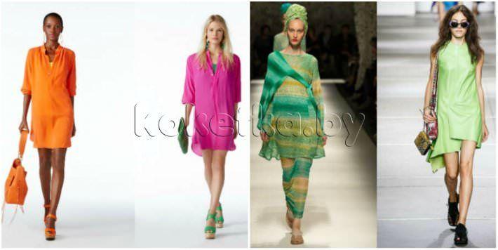 Модные туники весна - лето 2015