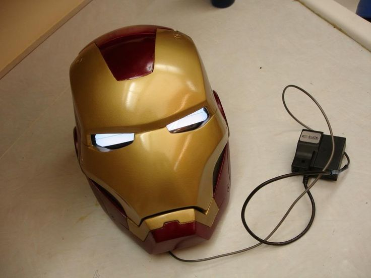 How to Make Iron Man Helmet, Guide For Noobs, Iron Man ...