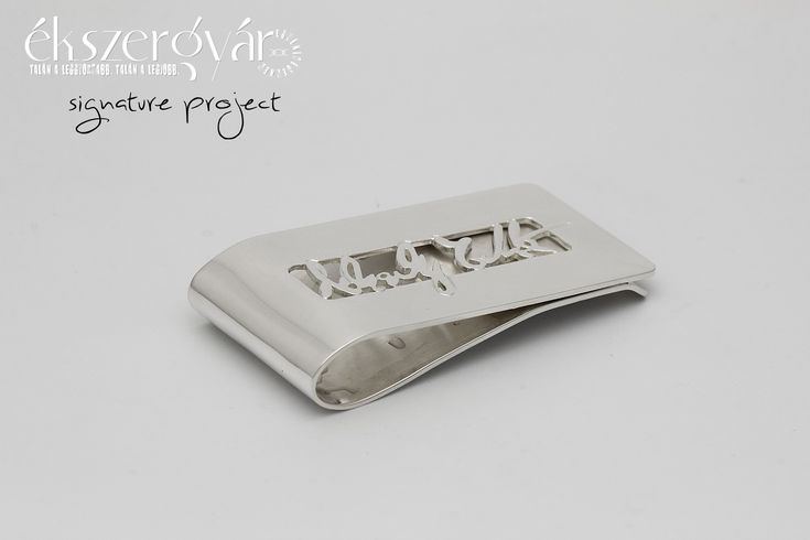 Signature Project - sterling silver money clip (12)