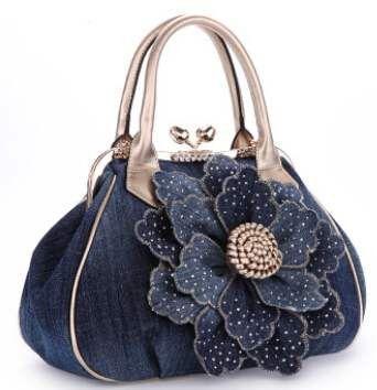 Vogue Star 2017 Excessive Prime quality Mannequin New Women Bag Vogue Denim Purses – #bag…
