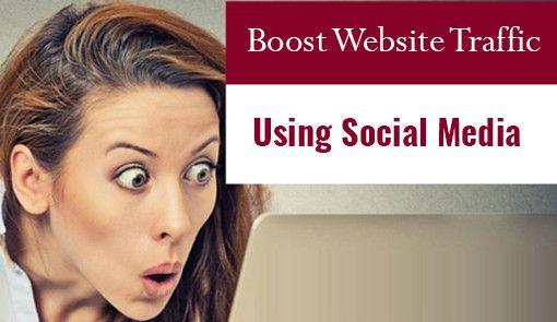 7 Useful Tips to Boost Website Traffic Using Social Media More details here: https://goo.gl/u1p2cm