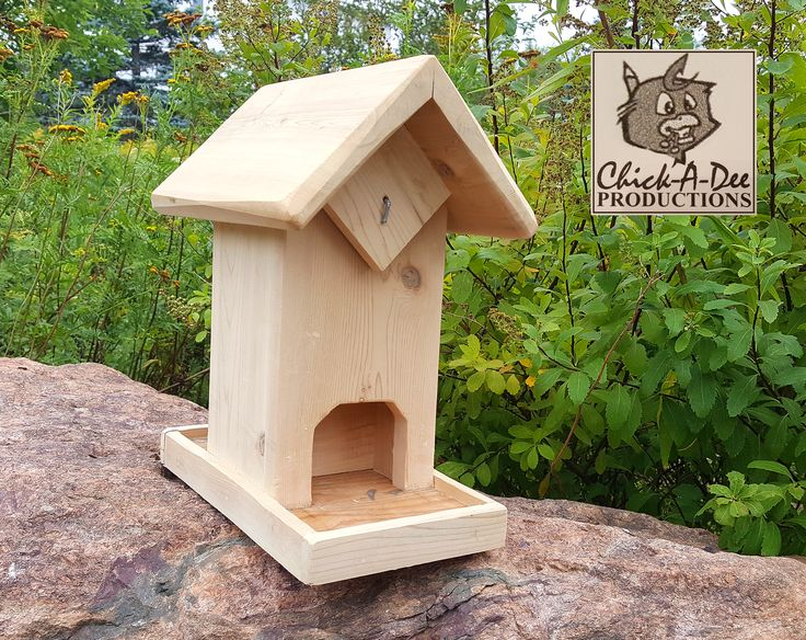 Seed Utopia Birdfeeder:   Don't feed the birds? That's the stupidest thing I've ever heard in my life! Click me and feed away.