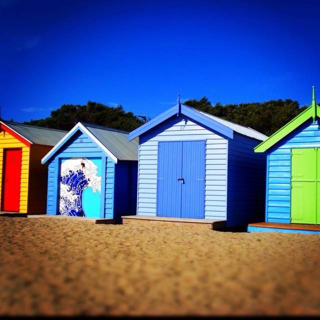 Brighton Beach Bungalows The Best Beaches In World