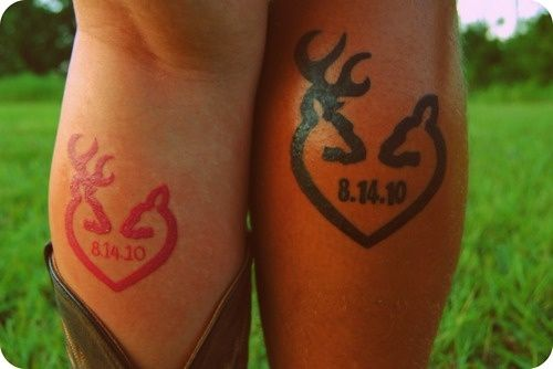 Browning Couple Tattoo...