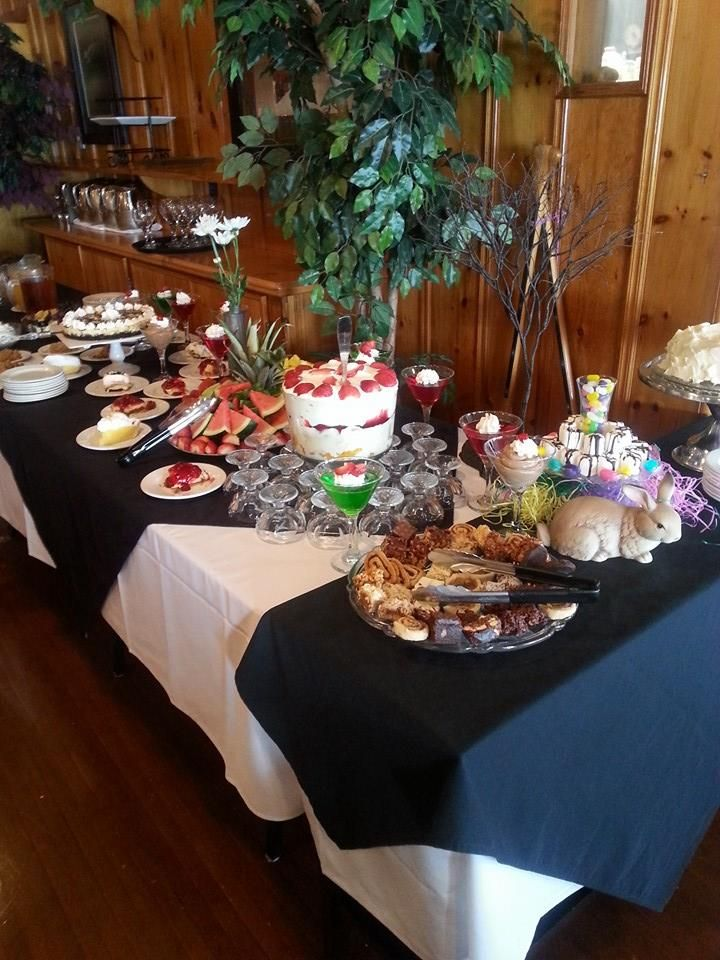Lots of delicious desserts at our first ever Easter Brunch!   #yum #easter #brunch #beachwoodresort