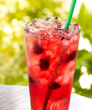Berry Iced Tea Starbucks | ... whole blackberries shaken with Green Coffee Extract, served over ice