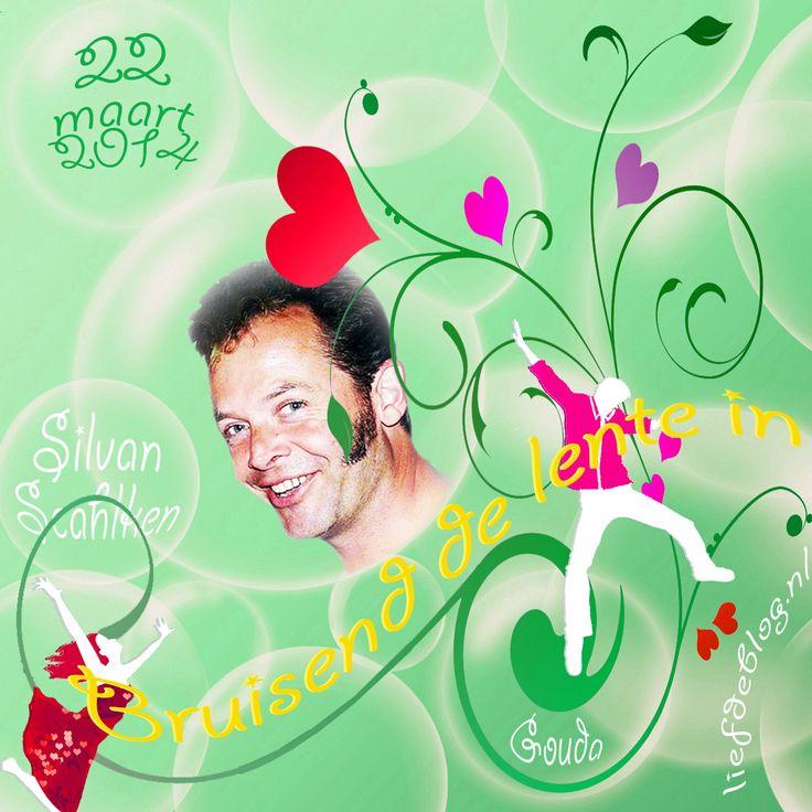 22 maart 2014 Bruisend de lente in met Silvan Schalken en DJ very Ferry  in De Balzaal in Gouda