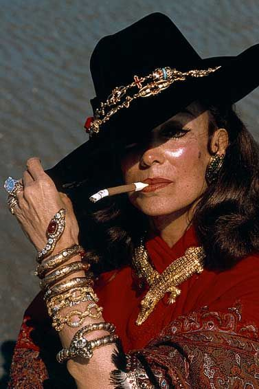 Maria Felix. Incidentally, all of her jewellery was real...