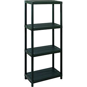 Wickes 4 Tier Plastic Shelving Unit