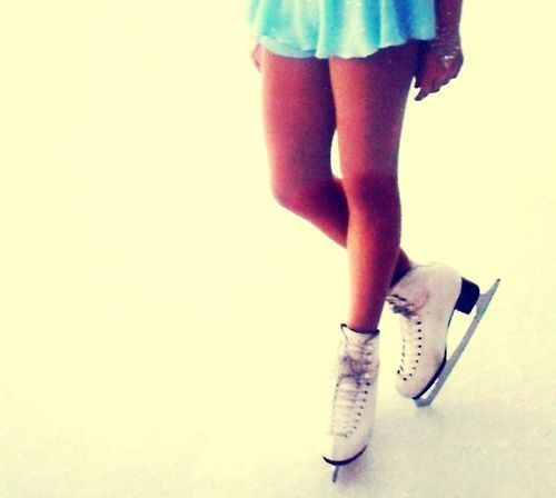 Never stop skating... Skate is my life, my passion!!! Yes, I'm a figure skater;)