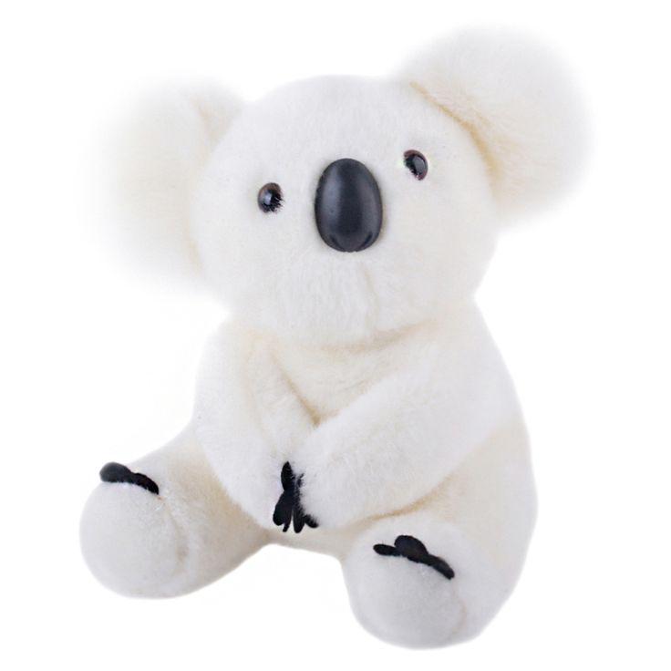 """Encontrar Más De peluche y Felpa Animales Información acerca de Blanco Koalas Oso de Peluche Muñeco de Peluche Almohada de Dibujos Animados para Niños de Niño y Niña Regalo de Cumpleaños de 8*11 """"nueva Llegada, alta calidad koala bear plush, China pillow for kids Proveedores, barato doll stuffed de Metoo Doll World en Aliexpress.com"""