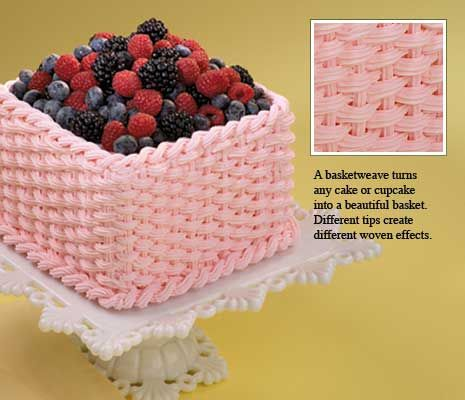 Cakes With Strawberry Icing