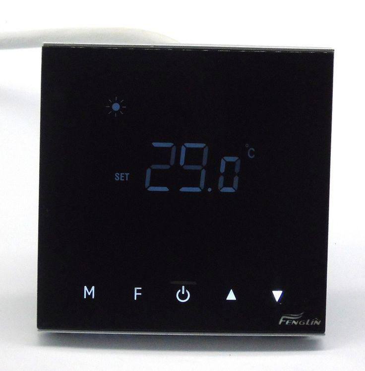 ルームガスボイラー加熱コントロールサーモスタット付きタッチスクリーン(B7000T)